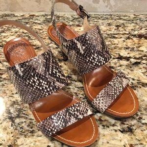 Vince Camuto snake Sandals 6.5